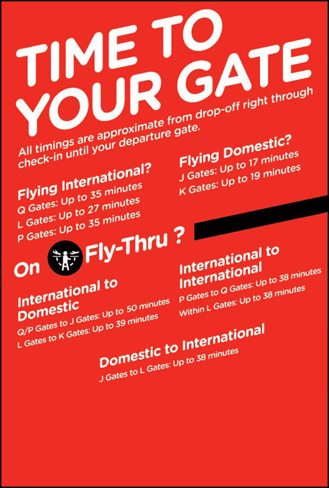 AirAsia Time to your gate guide