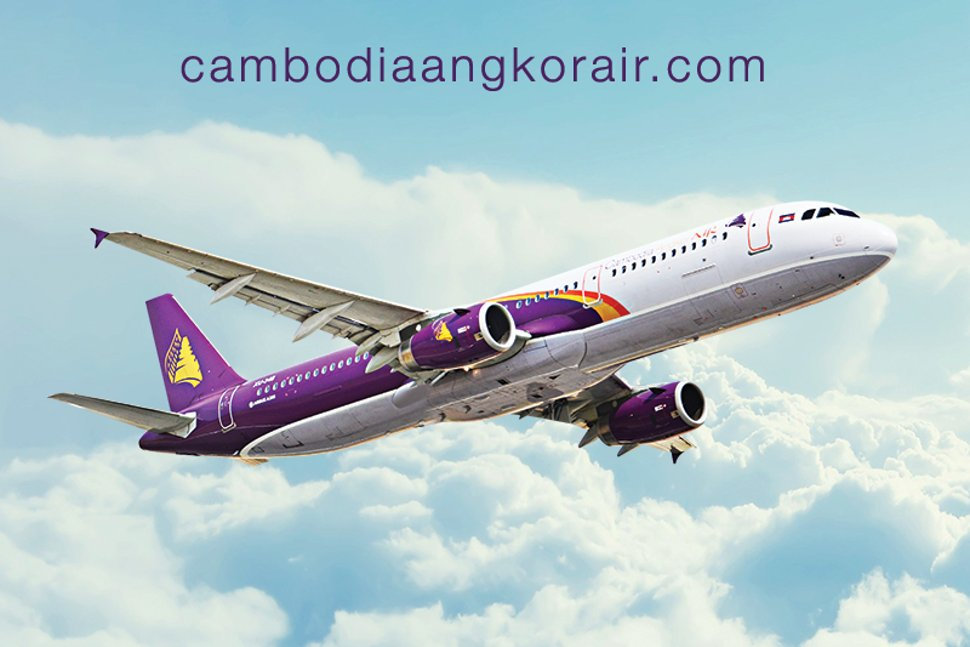 Cambodia Angkor Air - Proudly The National Flag Carrier