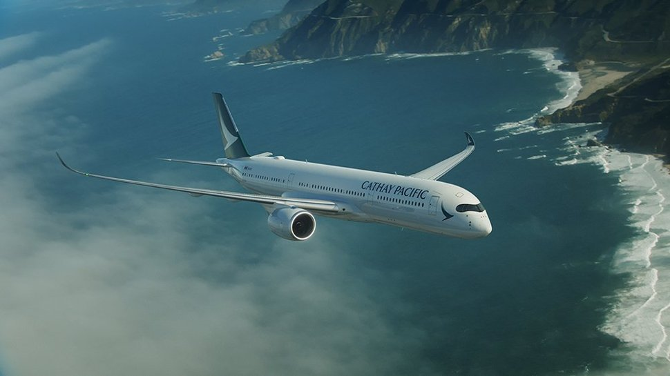 Cathay Pacific's flight