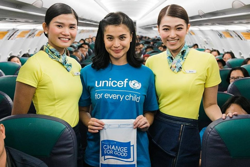 Cebu Pacific and UNICEF Philippines renew Change for Good partnership with UNICEF