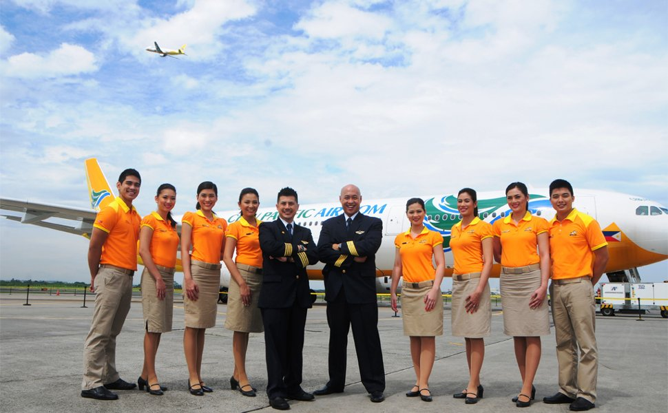 Cebu Pacific Air's crew members