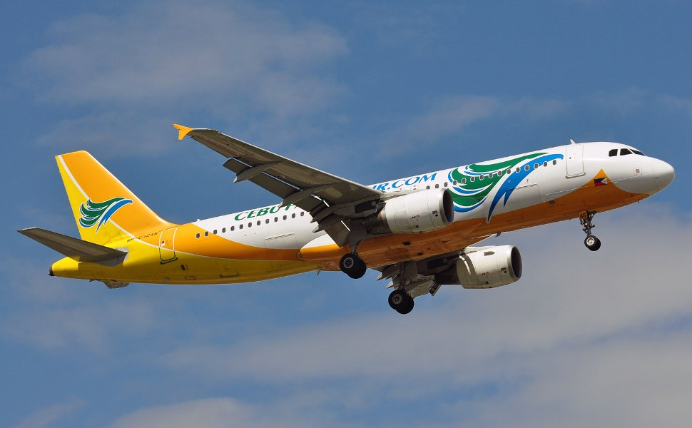 Cebu Pacific Air's flight
