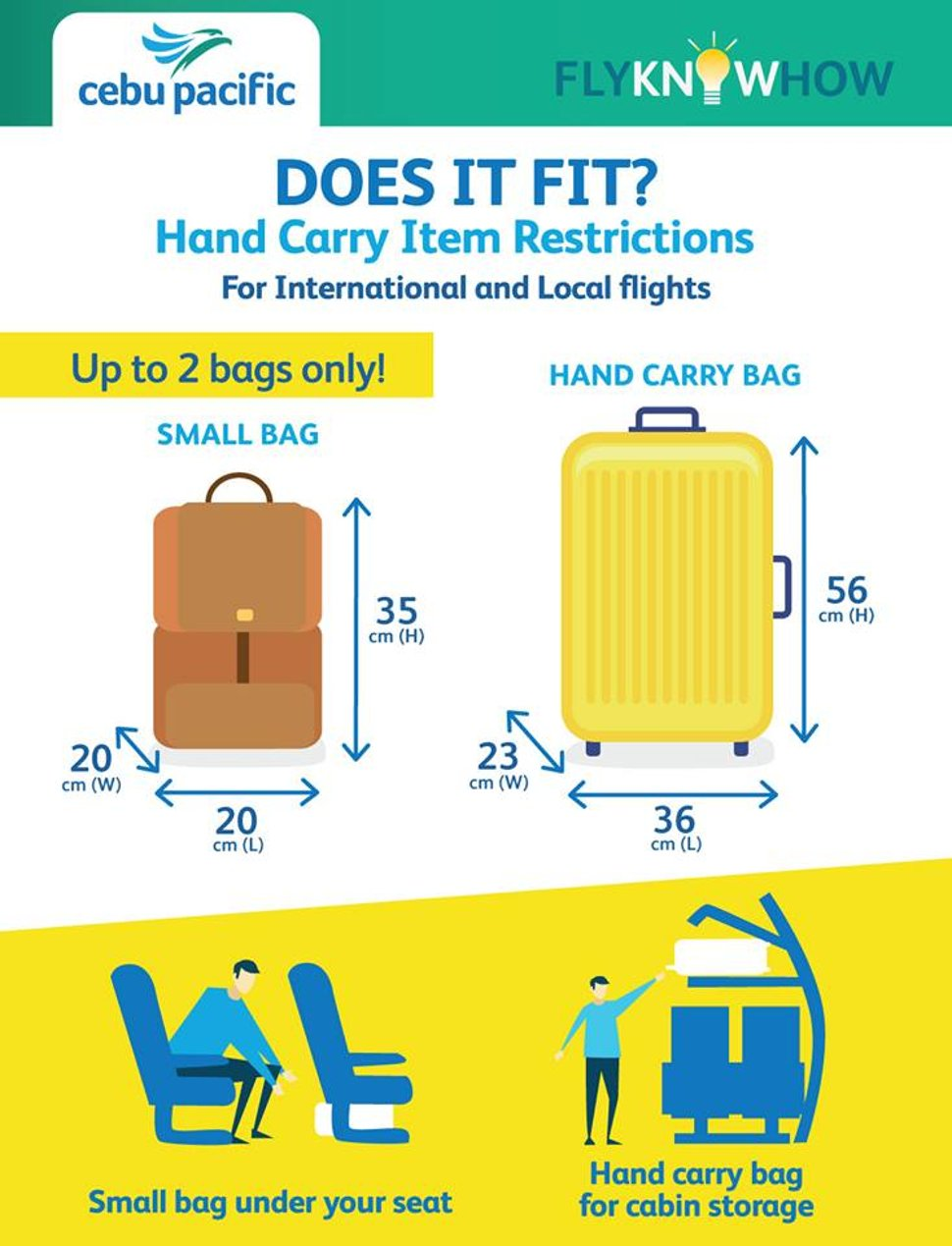 Hand carry item restrictions