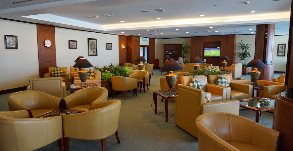 Emirates Lounge at KLIA