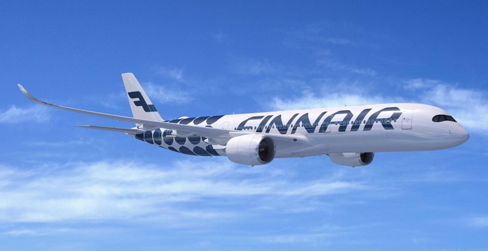 Finnair's flight flying high