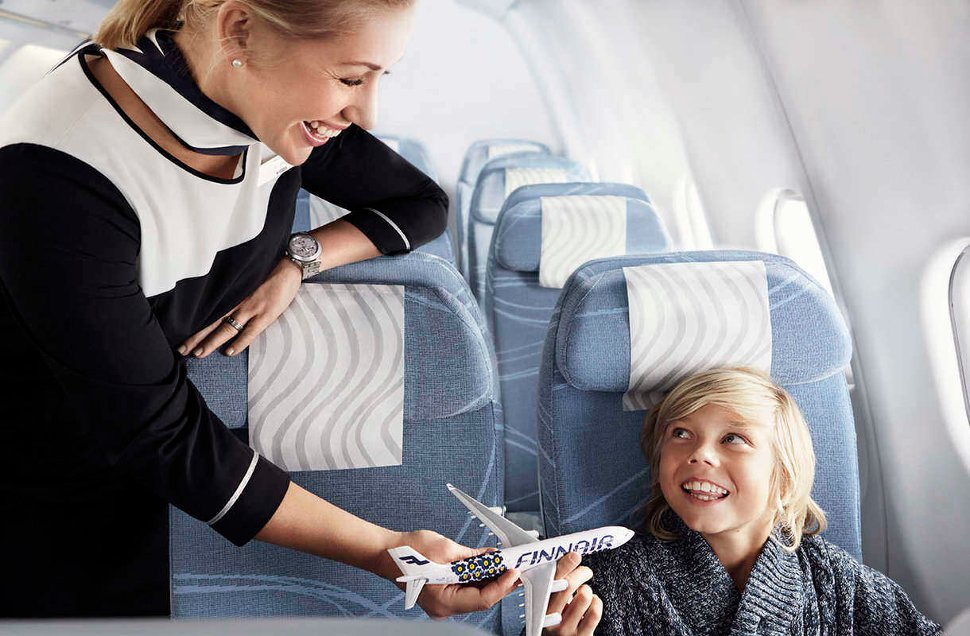 Finnair welcomes you!