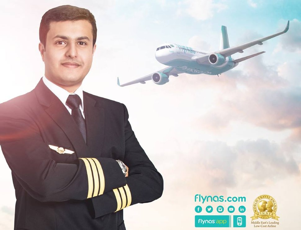 Flynas welcomes you!