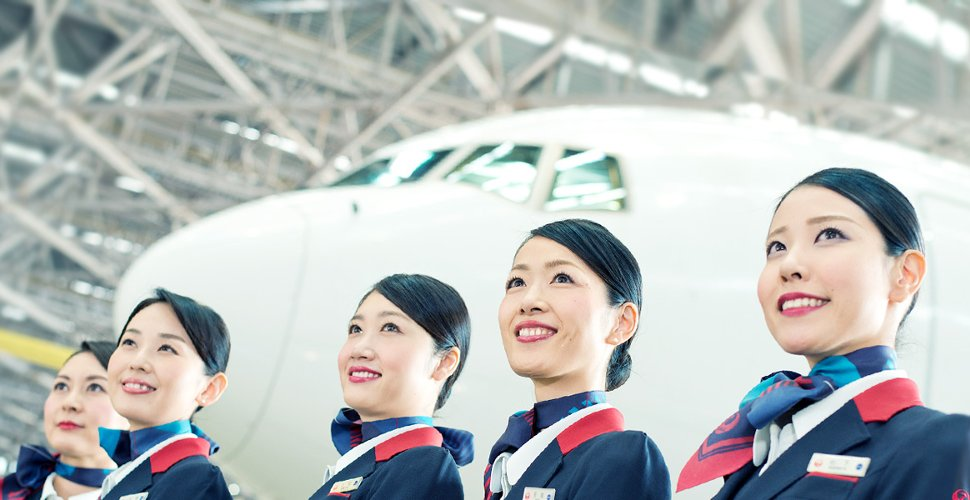 Japan Airlines has been chosen by travelers as the Best Airline in Japan.