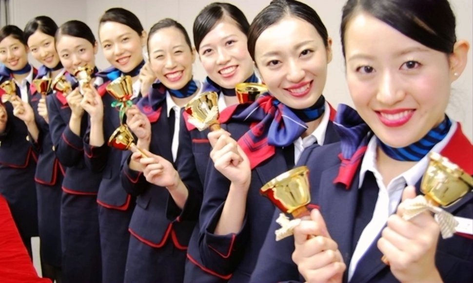 Japan Airlines welcomes you!