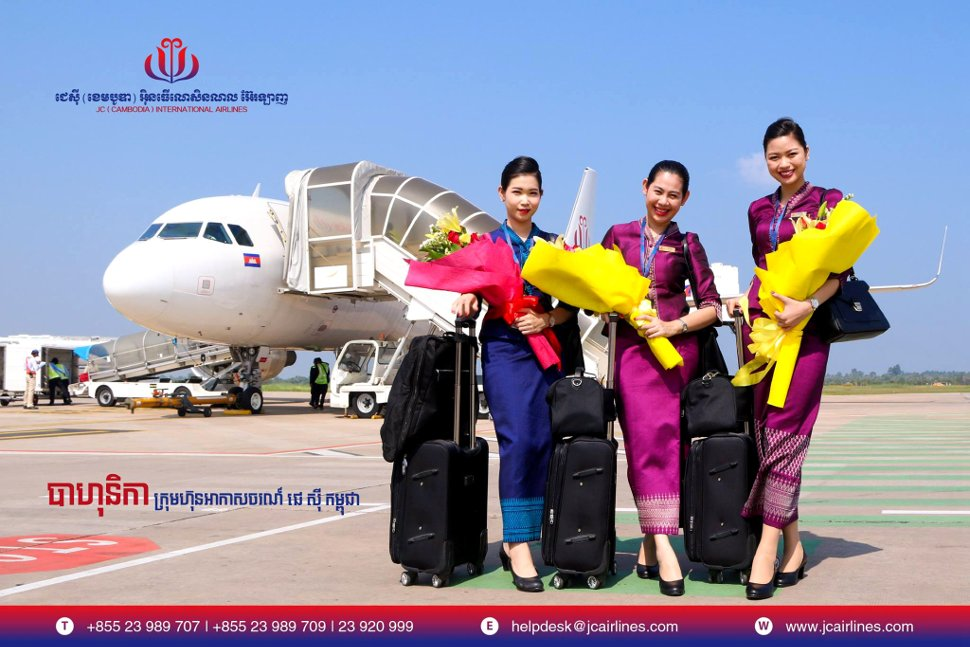 JC Cambodia International Airlines welcomes you