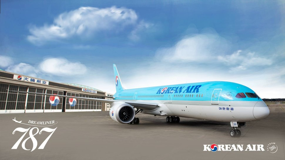 Korean Air's Dreamliner 787