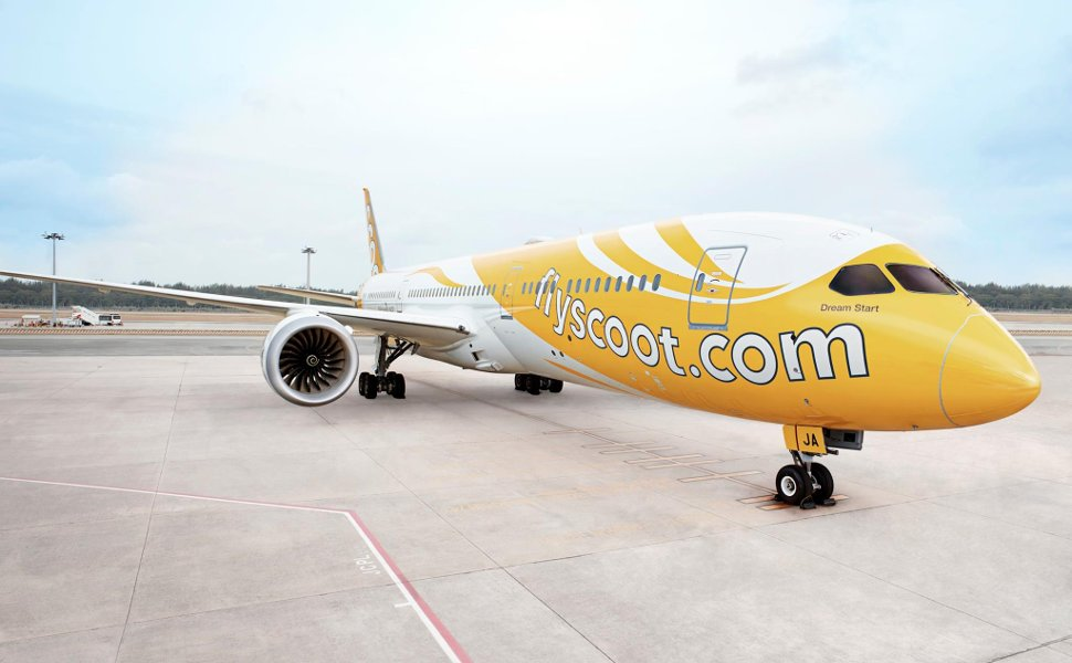 Scoot, the no frills airline