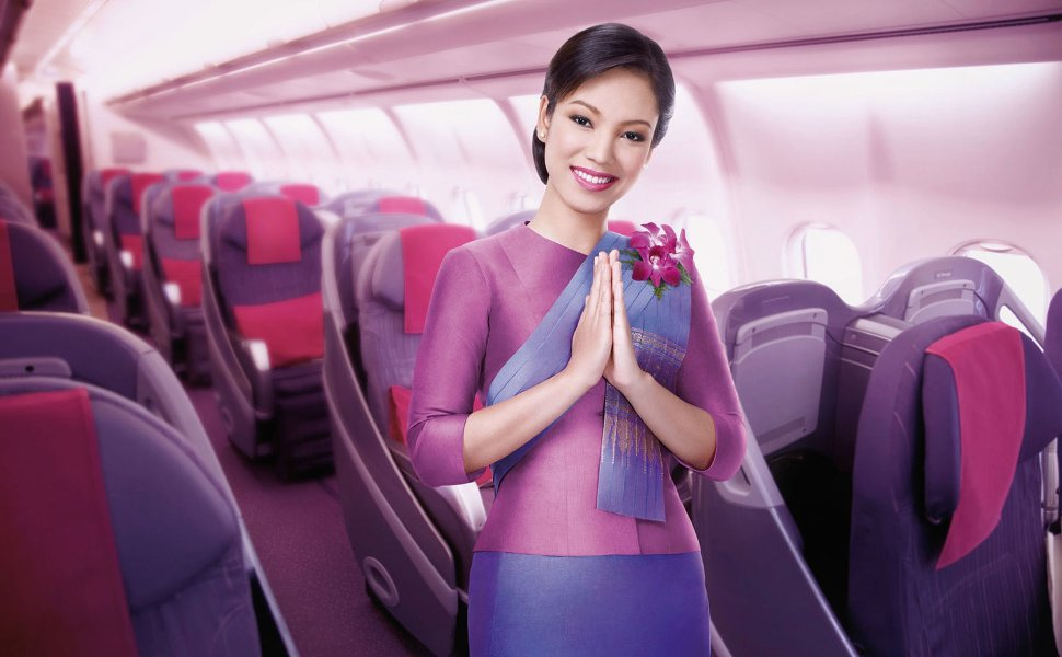 Thai Airways welcomes you!