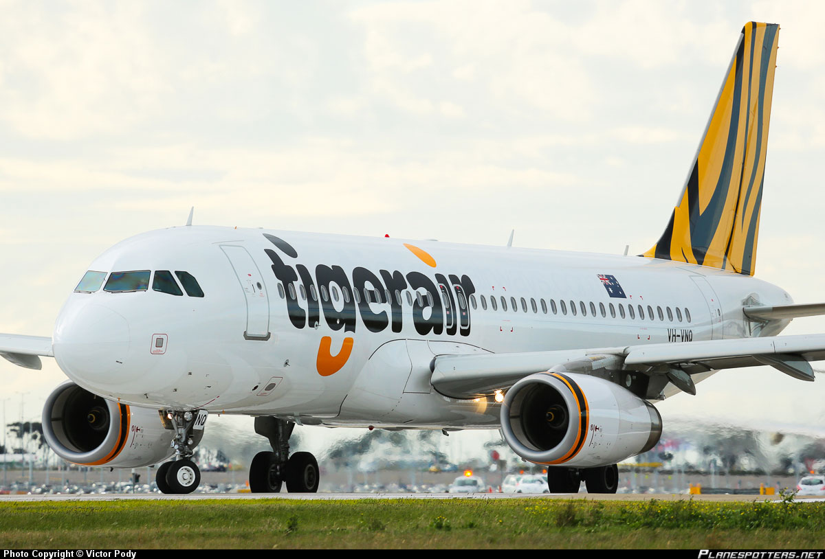 Tigerair at KLIA2 info...