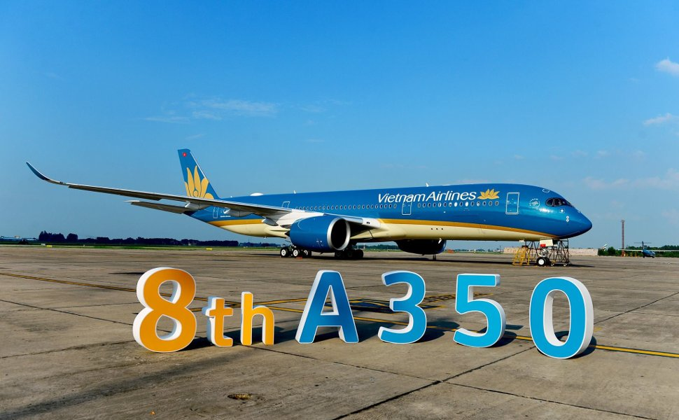 Vietnam Airlines' 8th Airbus A350