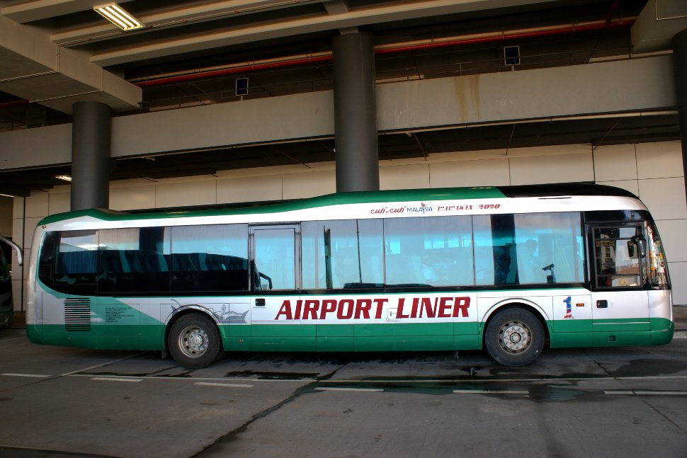 Airport Liner at the klia2 Transportation Hub