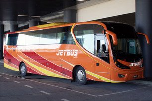 Jetbus - Bus from Terminal Bersepadu Selatan (TBS) to KLIA2