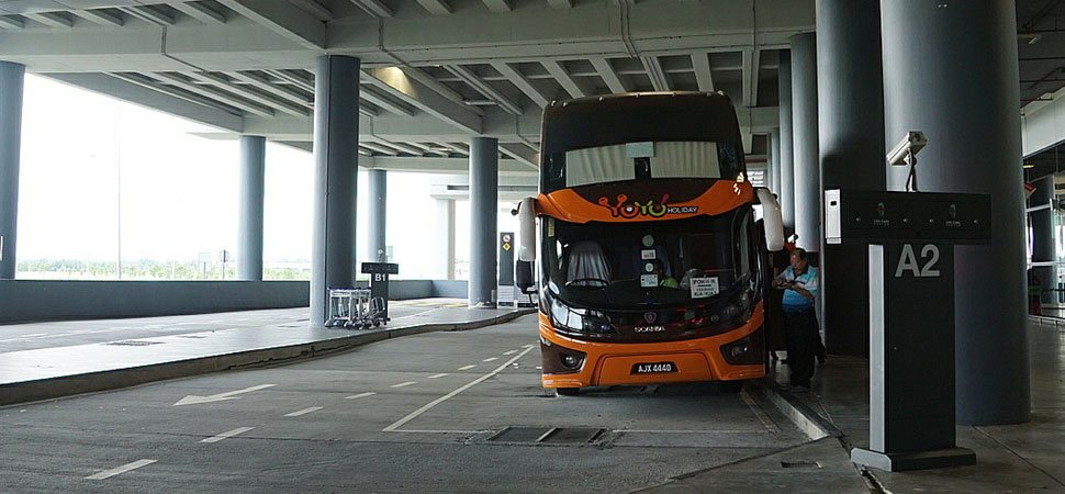 YoYo Bus at the klia2