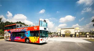 KL Hop-On Hop-Off Bus at National Palace