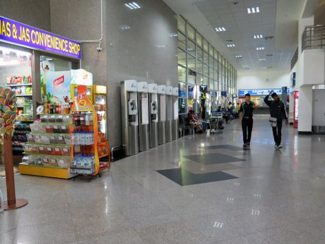 Convenience store at KLIA Bus Station