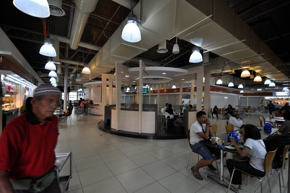 Food court available at Pudu Sentral