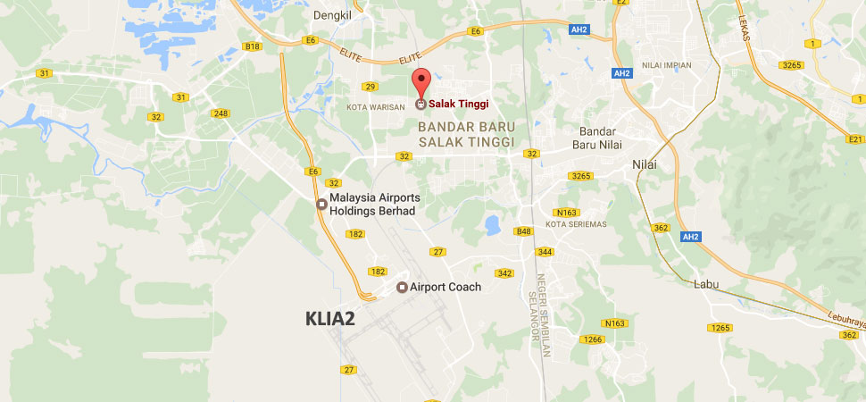 how to travel from klia to klia2