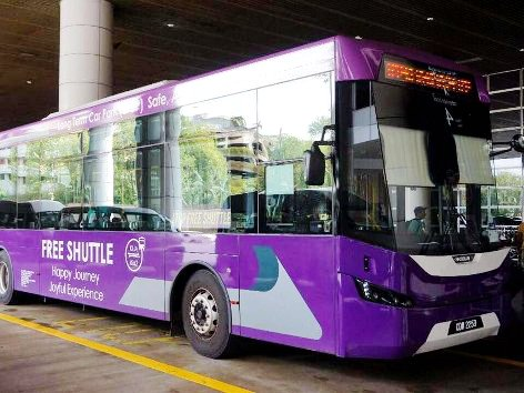 Free Shuttle Bus between klia2 and KLIA
