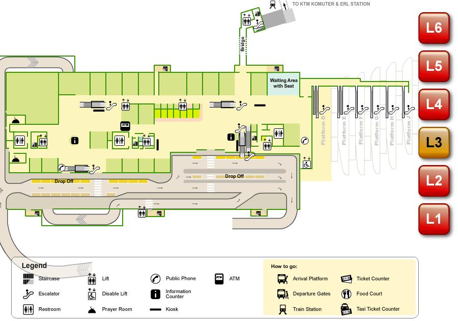 Photo Klia Airport Floor Plan Images Klia Airport Floor