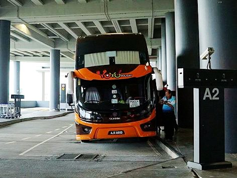 YoYo bus at klia2