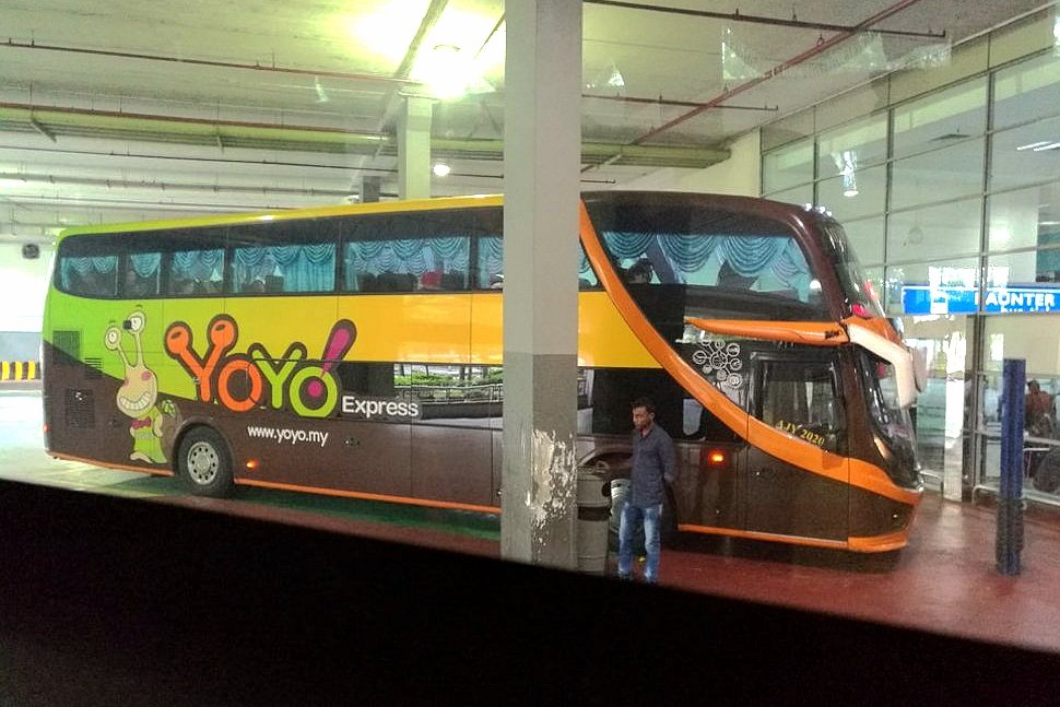 YoYo bus at the KLIA