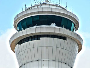 Air Traffic Control Tower, Tower West - photo credits: Greater Kuala Lumpur Development & Construction