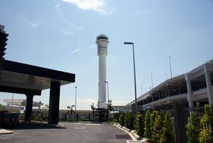 Air Traffic Control Tower, Tower West