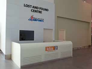 Lost and Found Centre, Arrival Hall