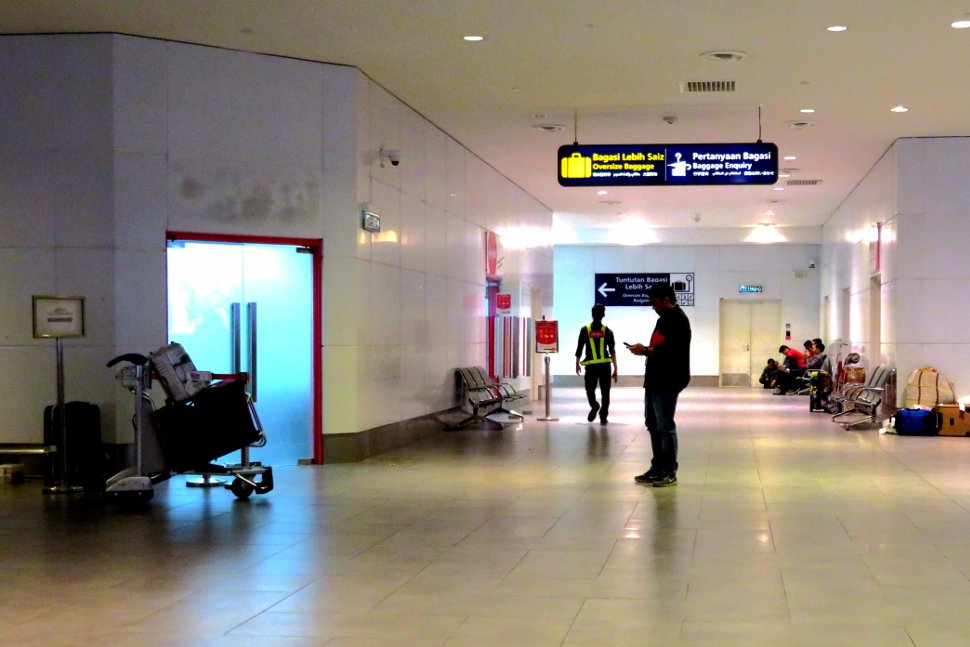 Baggage Enquiry office at klia2's Arrival Hall