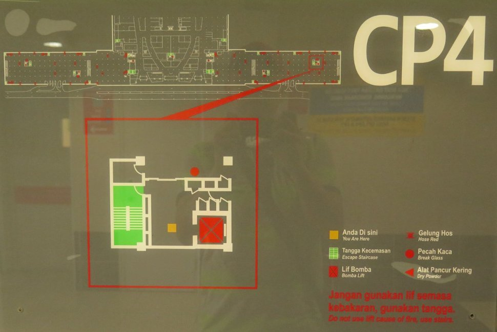 Layout plan for car park CP4 level