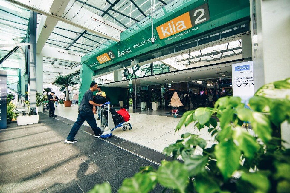 Entrance to the Departure hall from the Gateway@klia2 Level 3