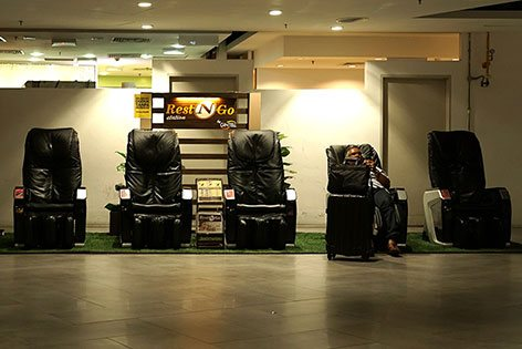 Massage chairs for relaxation
