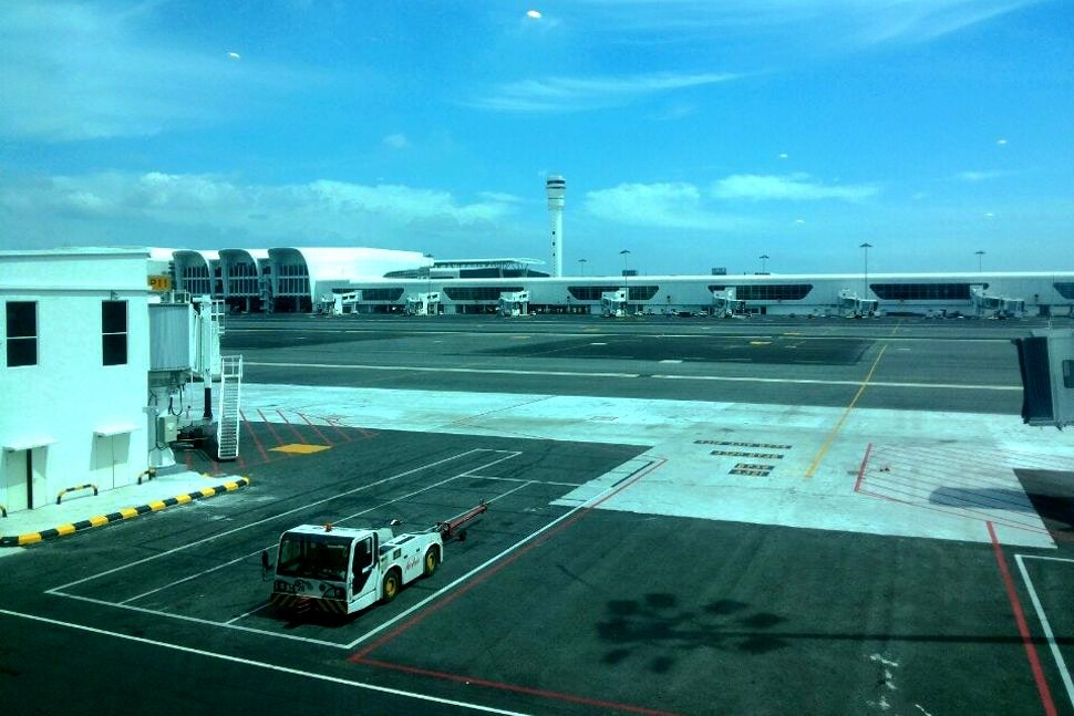 View of the klia2 terminal from Pier P