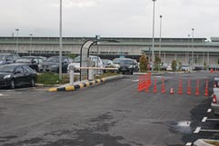 LCCT Parking Zone C, Exit Gate