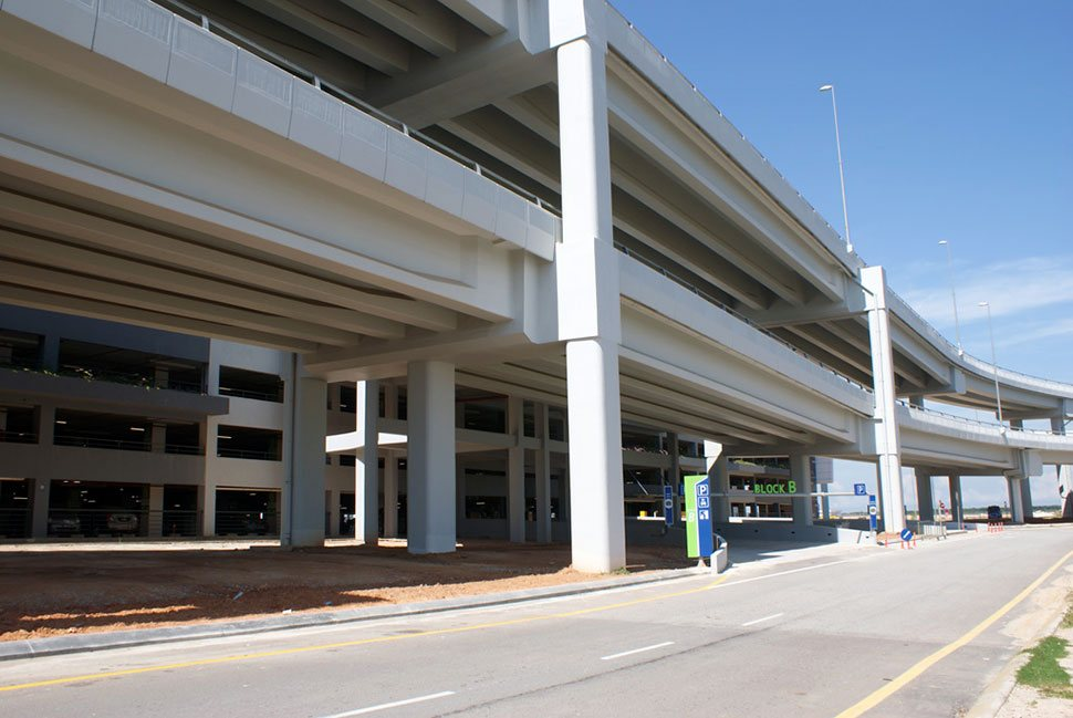 Entrance for Block B, Parking facility, klia2