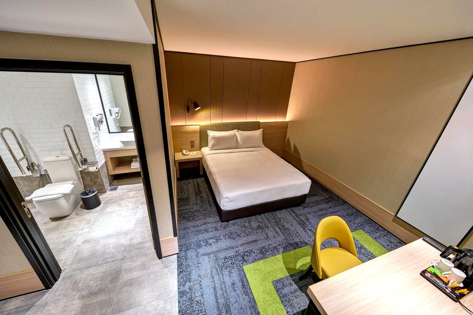 Double Squared room