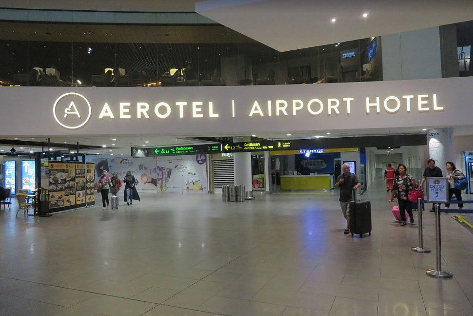 Aerotel Kuala Lumpur is available at Level 2M of Gateway@klia2