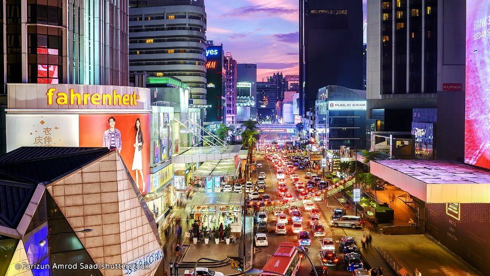 Bukit Bintnag, evening view