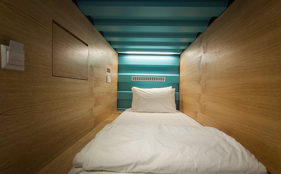 Capsule By Container Hotel At Klia2 Enjoy A Few Hours Of