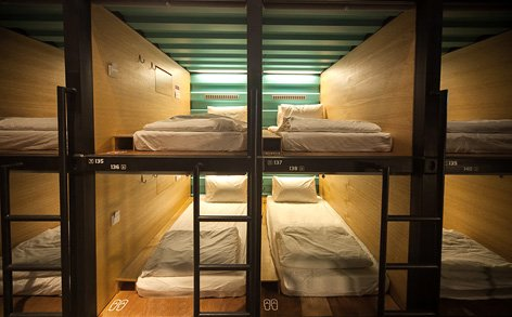 Capsule By Container Hotel At Klia2 With Rate From Rm45