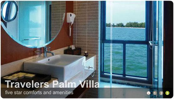 Travelers palm villa malaysia airport klia2 info for Balcony 52 melaka
