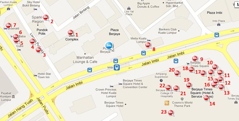 Budget Hotel Near Berjaya Times Square Kl