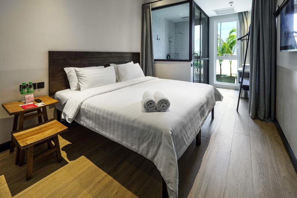 Double room at Tune Hotel klia2