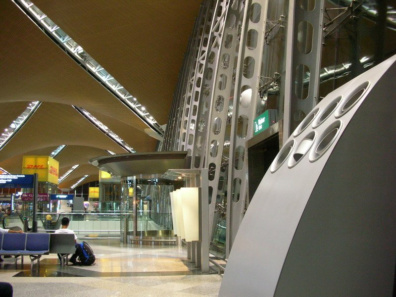 Entrances to Level 5 of Main Terminal Building