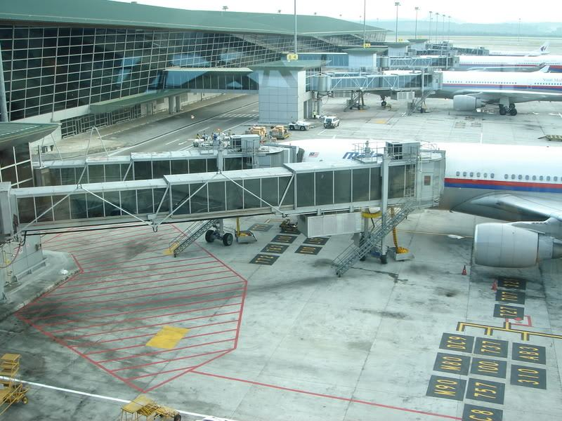 Flight at KLIA
